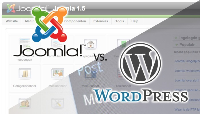 Wordpress vs. Joomla: Which is best for real estate?