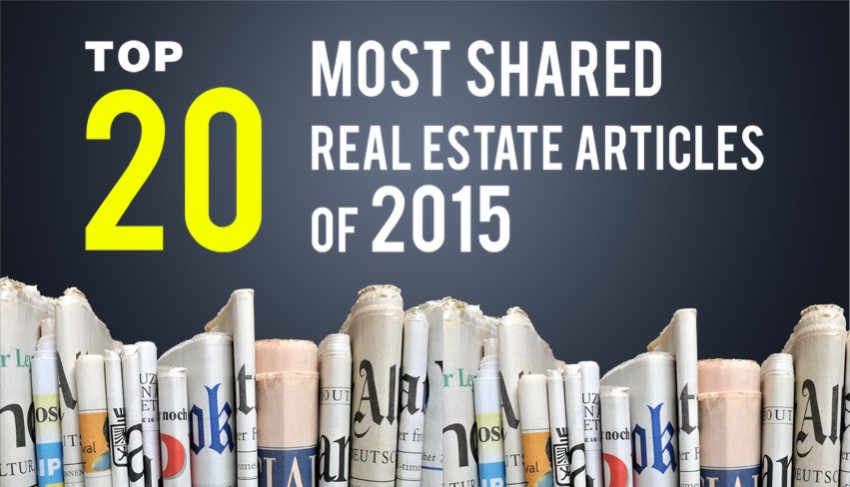 the best and most shared real estate articles directed at homeowners