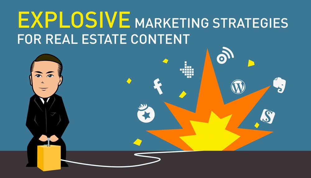 Generate shares, listings and leads with content marketing.