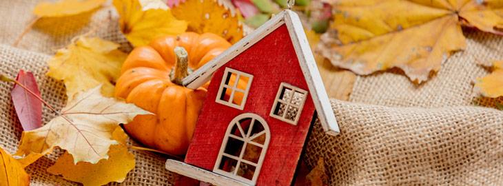 seasonal real estate marketing fall