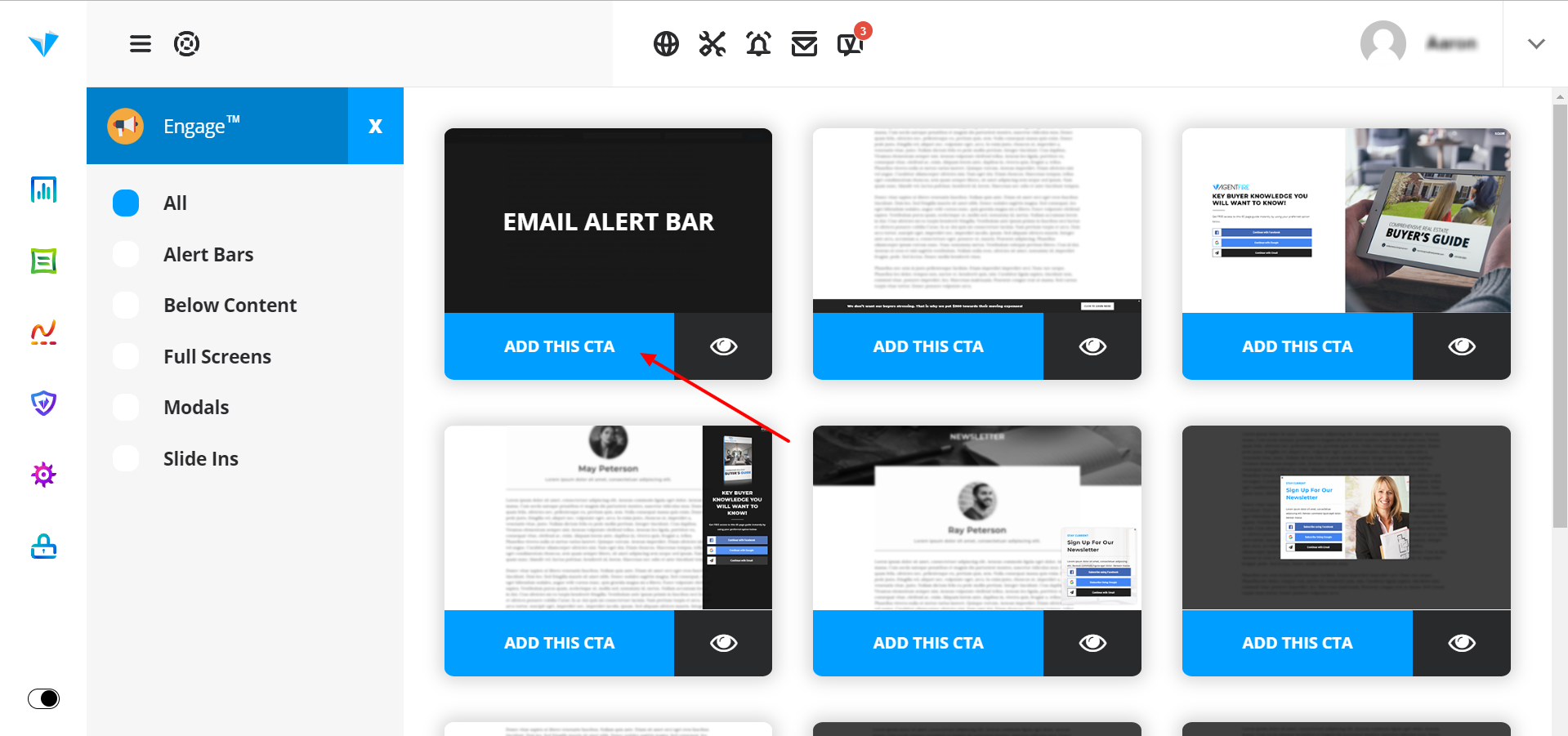 Have an email drip campaign in mind for each of your individual lead sources by page or area. Thoughtful segmentation of your CTAs is more likely to a conversion.