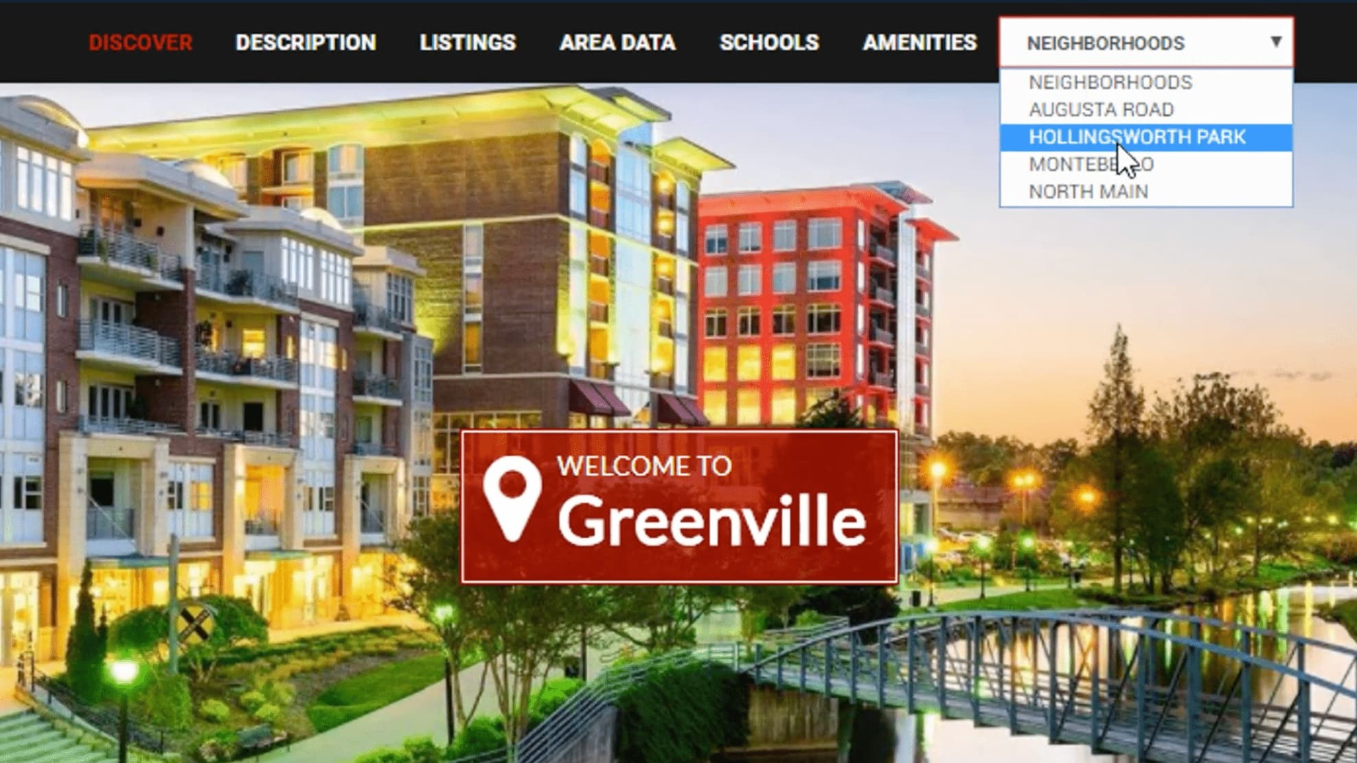You'll get the biggest ROI from using Neighborhood pages