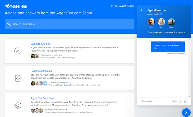 Advice and answers from the AgentFire.com Team