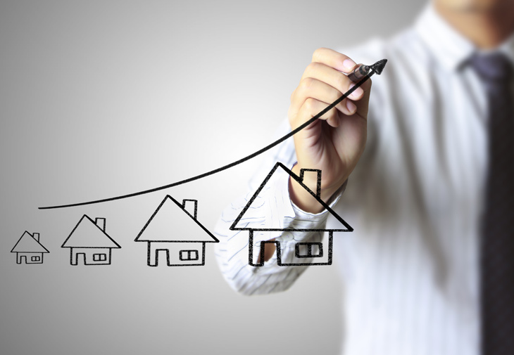 Upsizing homes