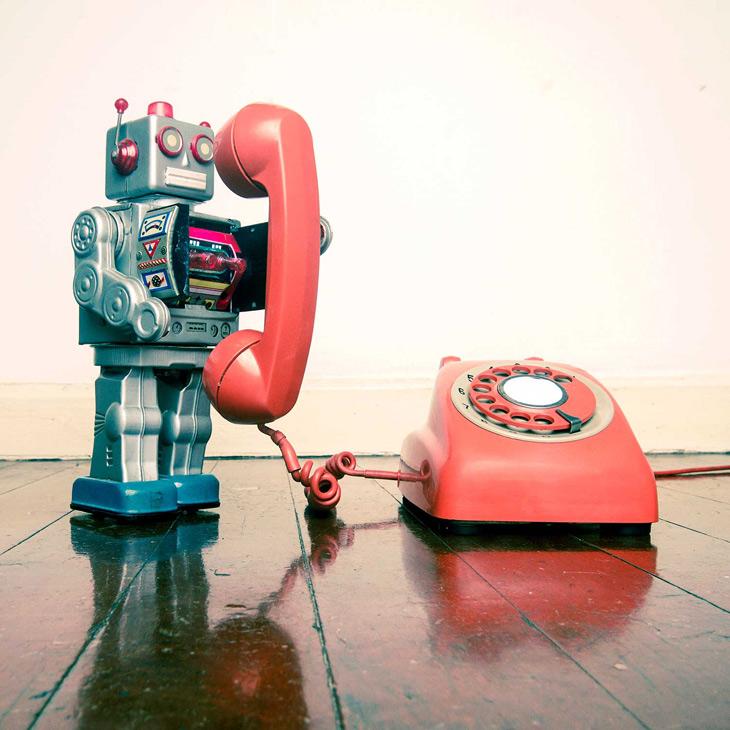 Old school robot