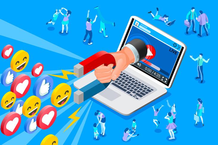social media attract