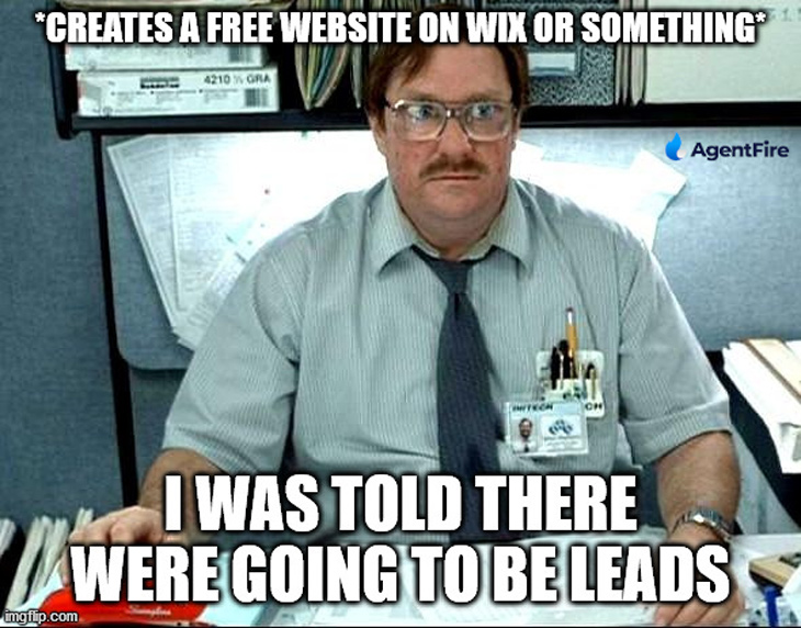 i was told there would be leads