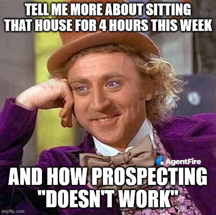 prospecting does work