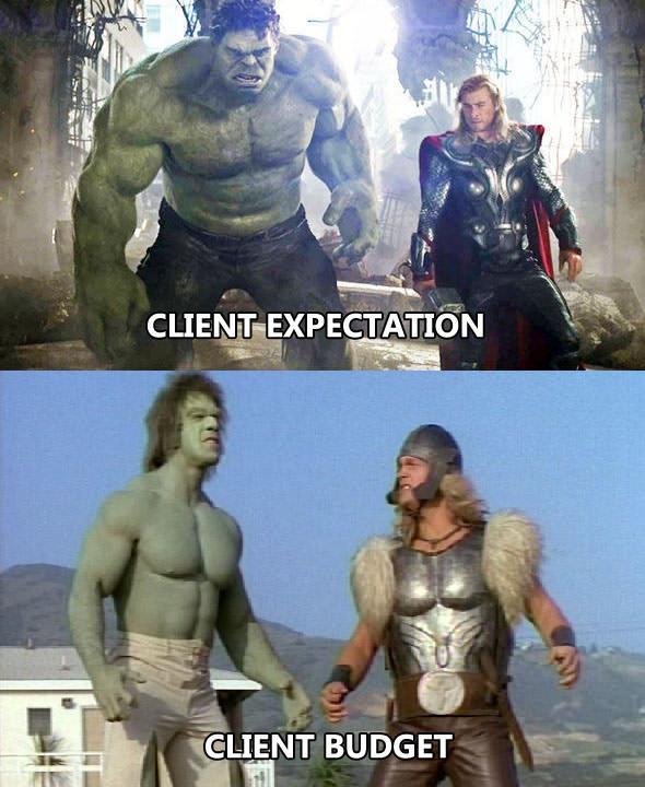 budget vs expectation