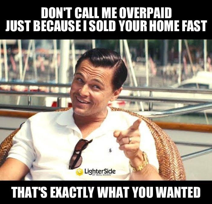 don't call me overpaid