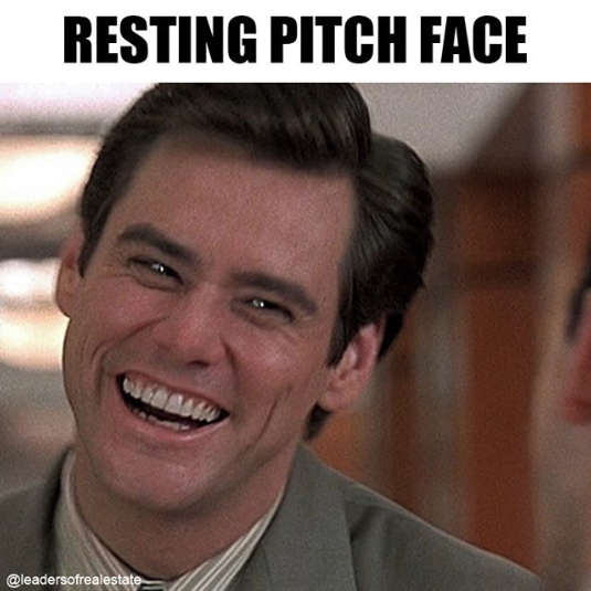 resting pitch face