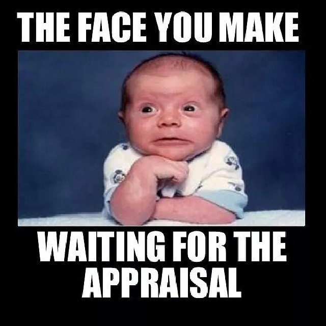 waiting for the appraisal