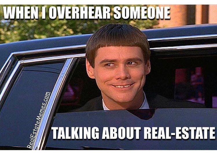 i heard you like real estate