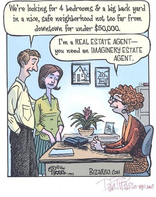 imaginary estate agent