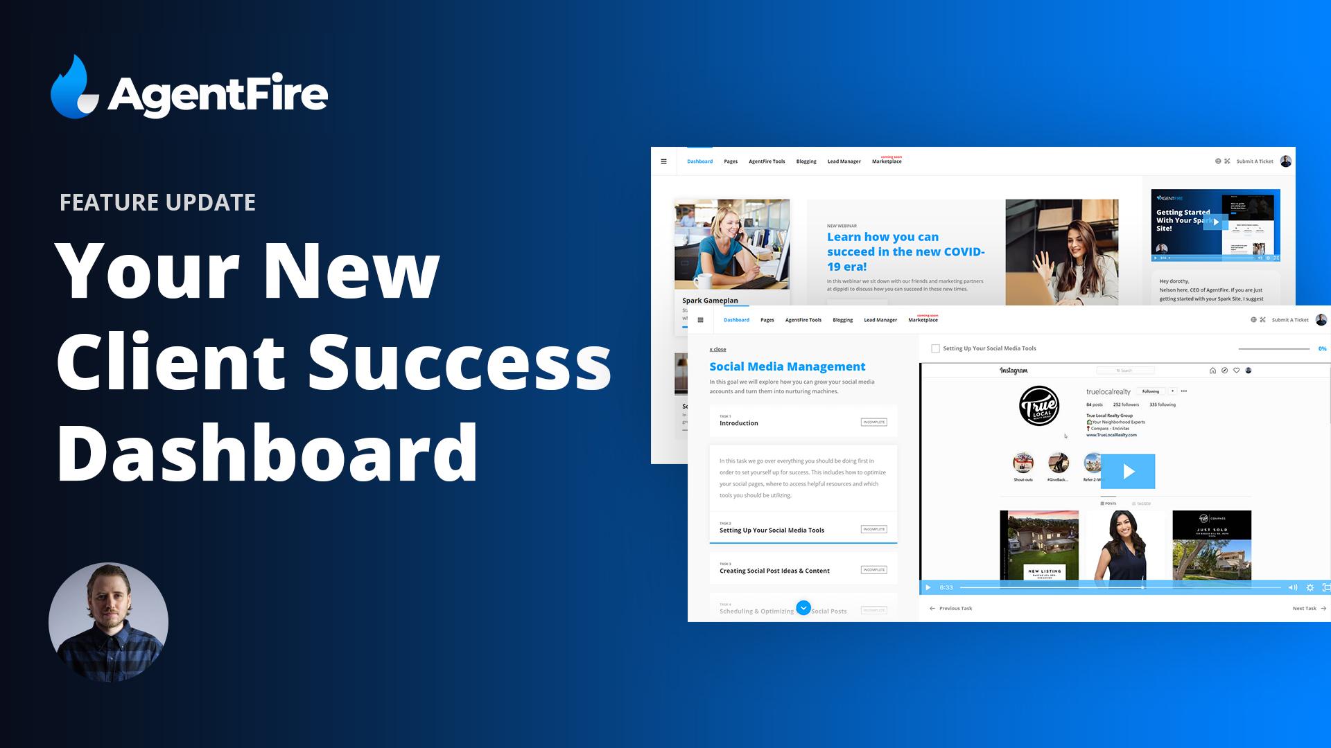 AgentFire Success Dashboard