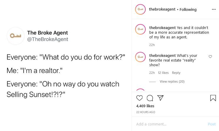 The Broke Agent