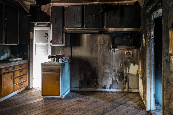 fire or water damage