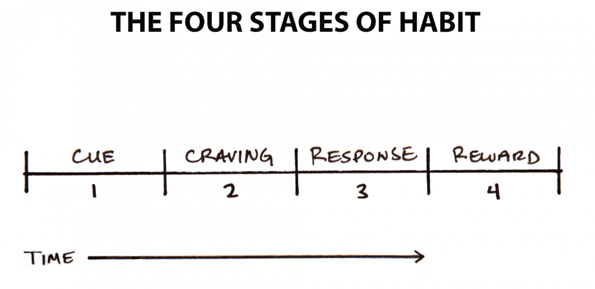 four stages of a habit