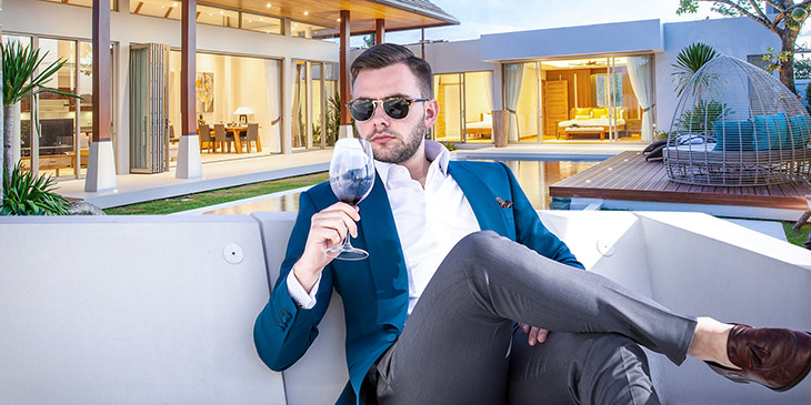 break luxury real estate