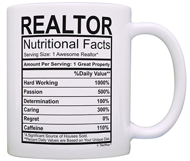 realtor nutritional facts