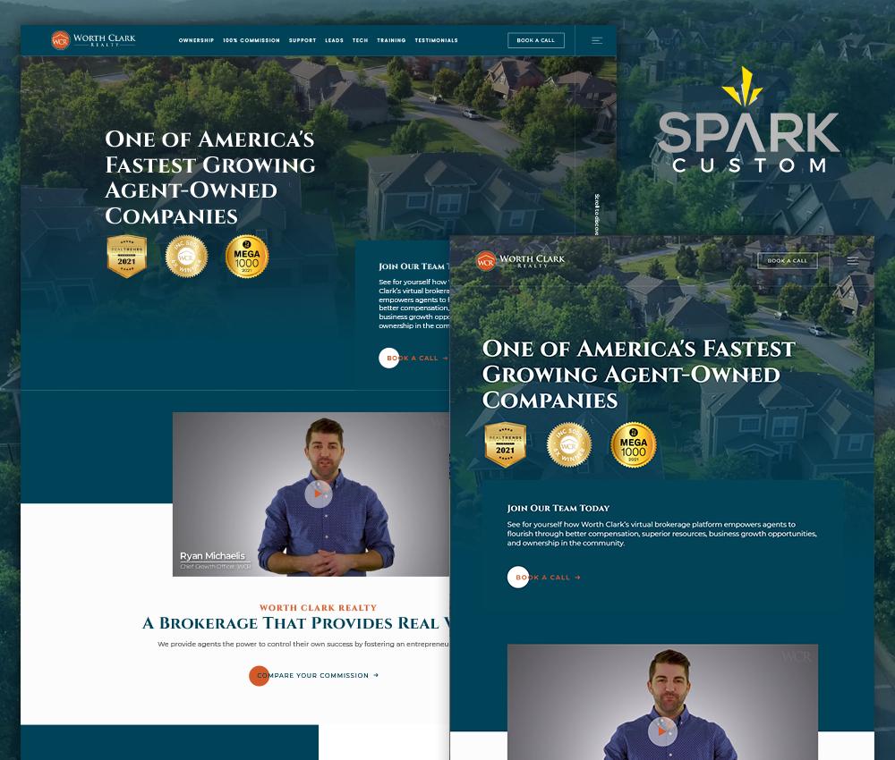 worthclark spark custom